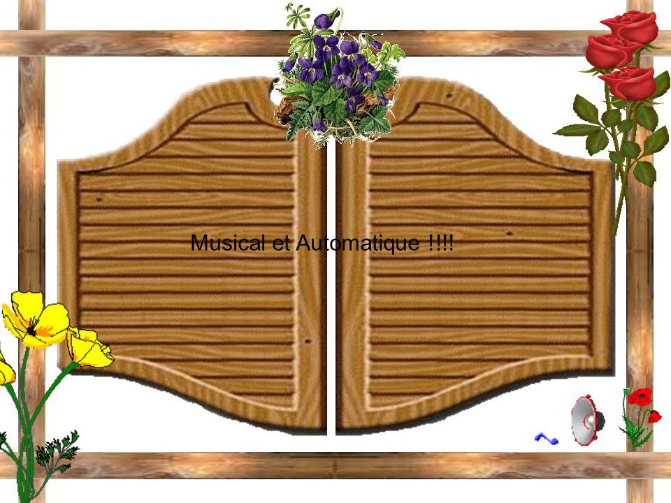 Musical et Automatique !!!!