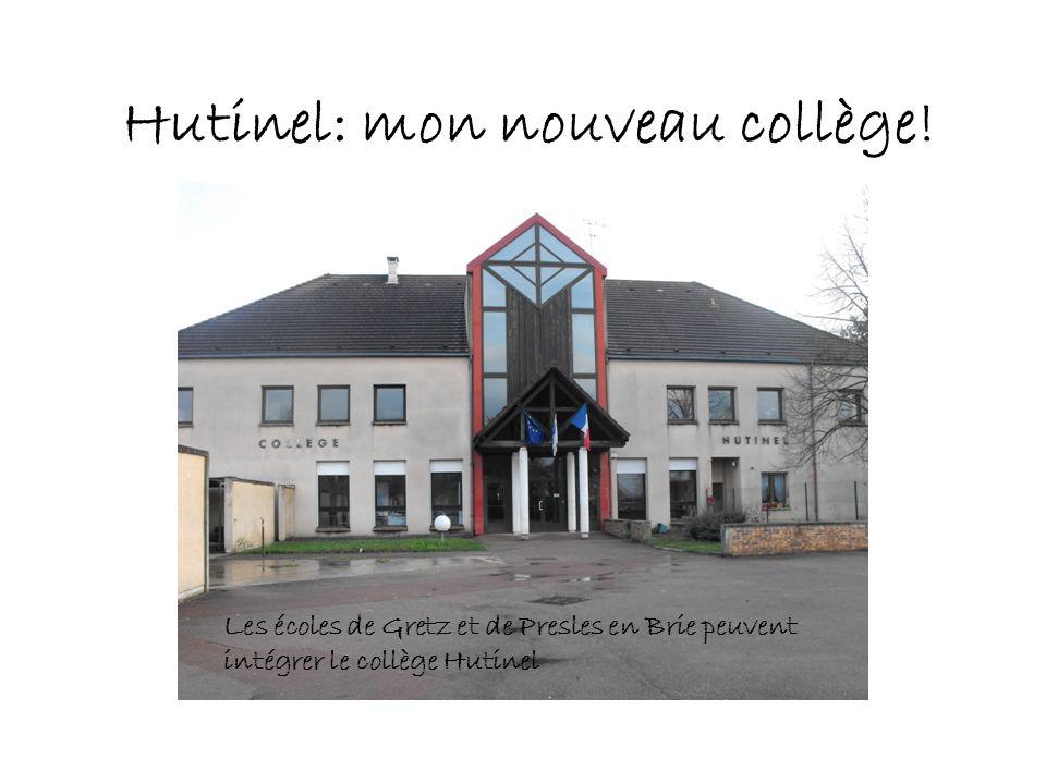 Hutinel: mon nouveau collège! Les écoles de Gretz et de Presles en Brie peuvent intégrer le collège Hutinel