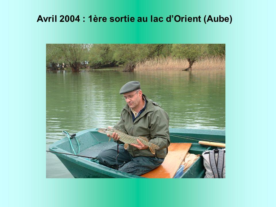 Avril 2004 : 1ère sortie au lac dOrient (Aube)