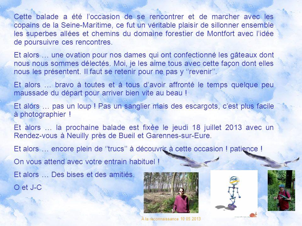 Laventure cest laventure, nous espérons que cette balade en forêt domaniale de Montfort-sur-Risle vous a plu, bien évidemment, nous navons pas tout dé
