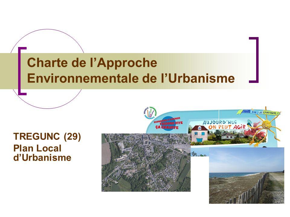 Charte de lApproche Environnementale de lUrbanisme TREGUNC (29) Plan Local dUrbanisme