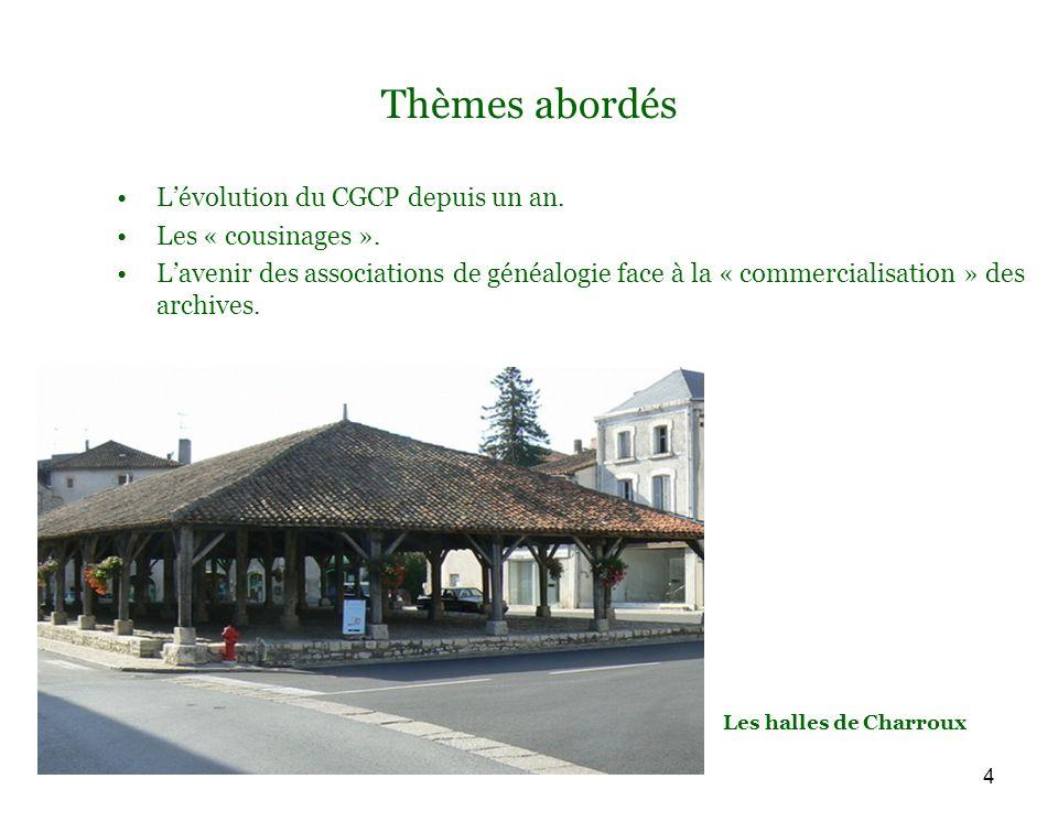 15 Le CGCP : nos échanges Demandes dactes, de photos : 27.652 actes demandés entre le 01.01.2009 et le 27.08.2009 = 113 actes par jour .