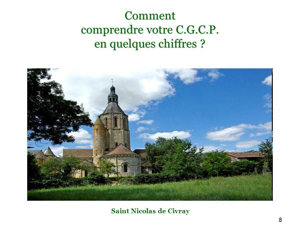 8 Comment comprendre votre C.G.C.P. en quelques chiffres Saint Nicolas de Civray