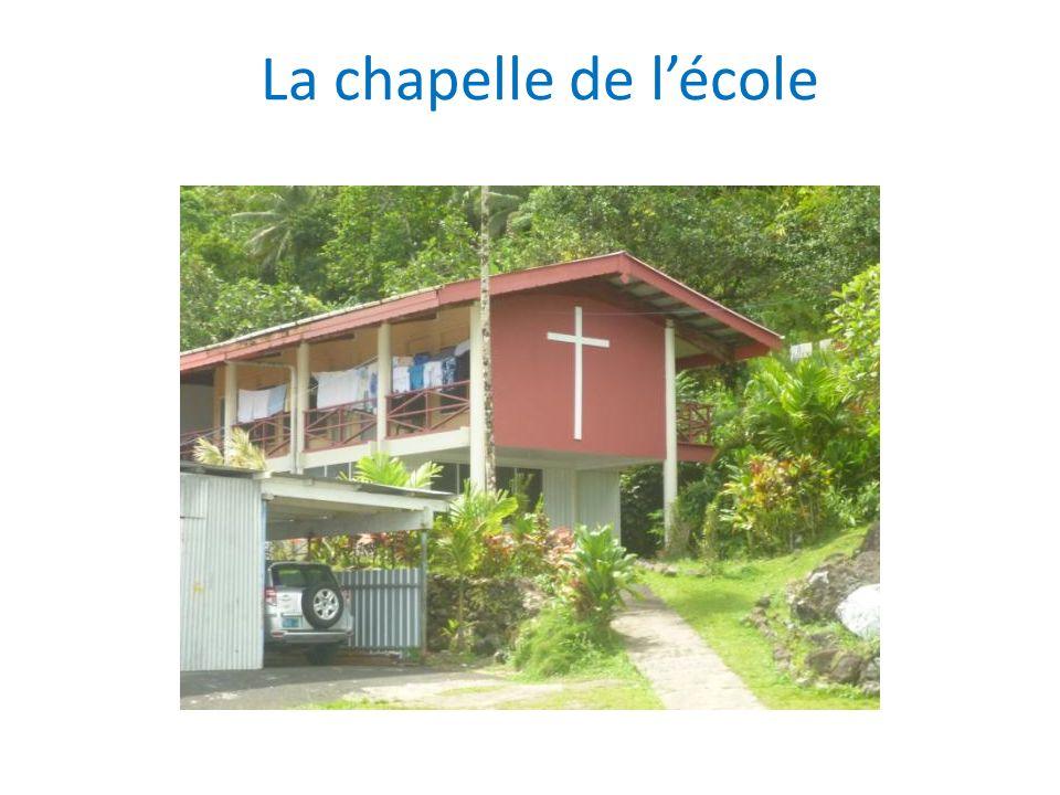 La chapelle de lécole