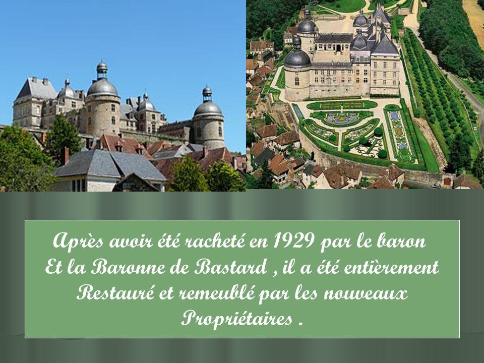 Le château se prêta aux tournages comme en témoignent encore les scènes.