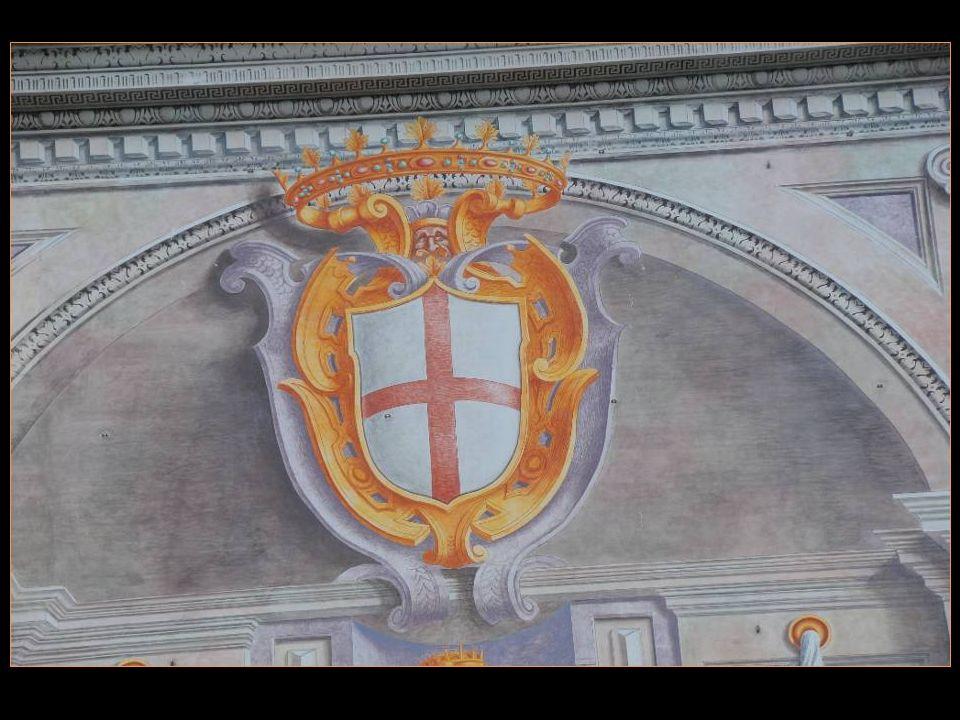 En 1408, le palais Est devenu le Siège de la Banque Saint-Georges