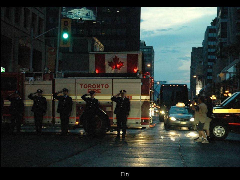 Arrivée à Toronto direction le bureau du coroner en chef de lOntario