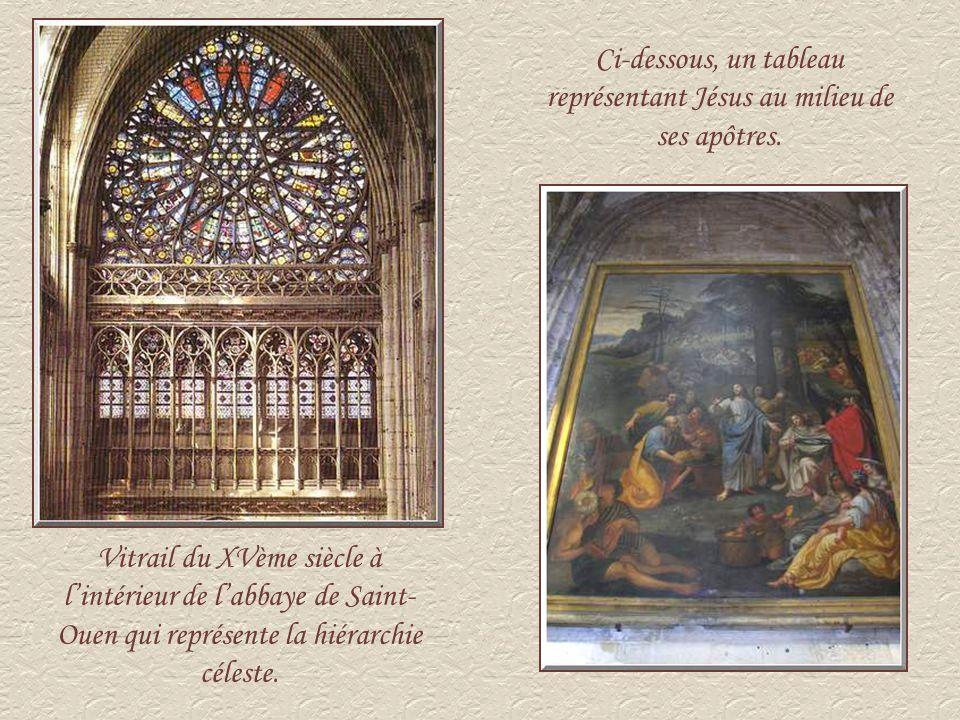 Façade de labbaye de Saint-Ouen