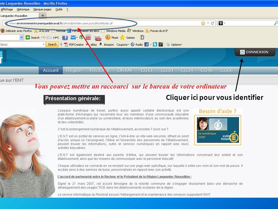 Pour voir les notes Cliquer ici Pour vérifier les absencesPour vérifier les compétences informatiques validées