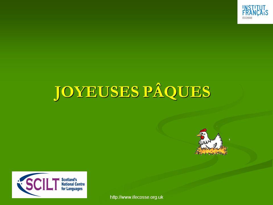 http://www.ifecosse.org.uk JOYEUSES PÂQUES JOYEUSES PÂQUES