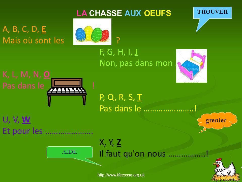 http://www.ifecosse.org.uk LE PETIT QUIZ DE PÂQUES 3.
