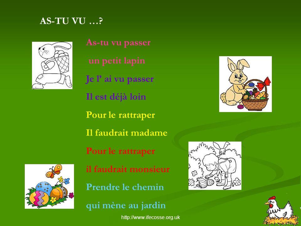 http://www.ifecosse.org.uk QUIZ DE PÂQUES 3.A Pâques, les enfants ….