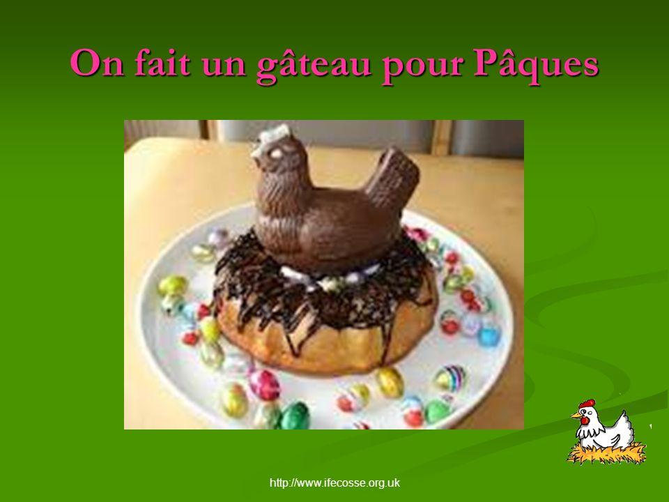 http://www.ifecosse.org.uk On fait un gâteau pour Pâques