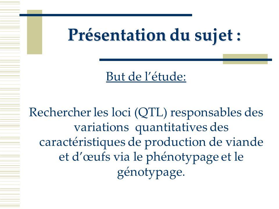 En plus, les analyses séparées pour les 2 sexes ont permis didentifier des QTL en plus de ceux déjà répertoriés antérieurement.