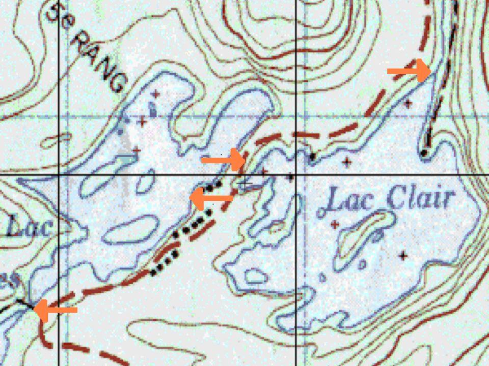 Analyse deau Lac-des-îles : Petit pont Fin de la frayère 2 Fin de la frayère 1 Zone alvinage Co 2 7ppm Nitrates 0ppm 0202 9,6ppm10ppm 9,2ppm Potassium 34ppm30ppm36ppm64ppm* Phosphate 0ppm~2ppm0ppm PH 6,136,286,86,4 Conductibilité 14 mS15mS28mS14mS Température 20 C19.56 C----20 C