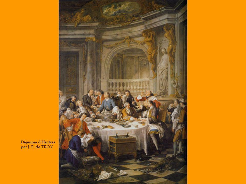 Déjeuner d Huîtres par J. F. de TROY