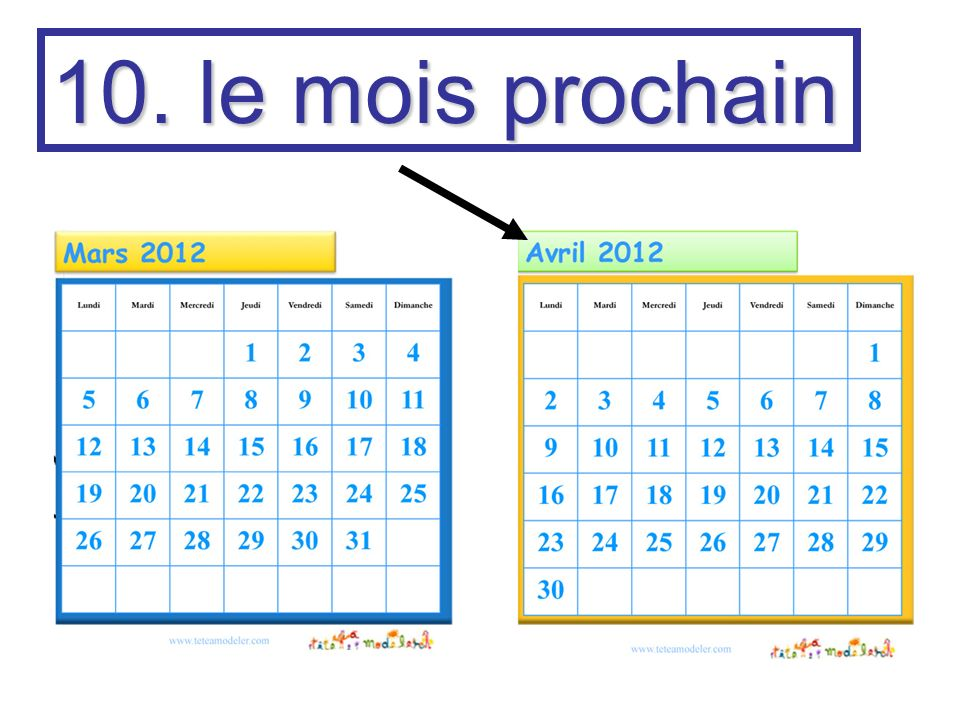 11. et puis and then