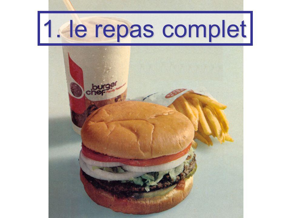 1. le repas complet