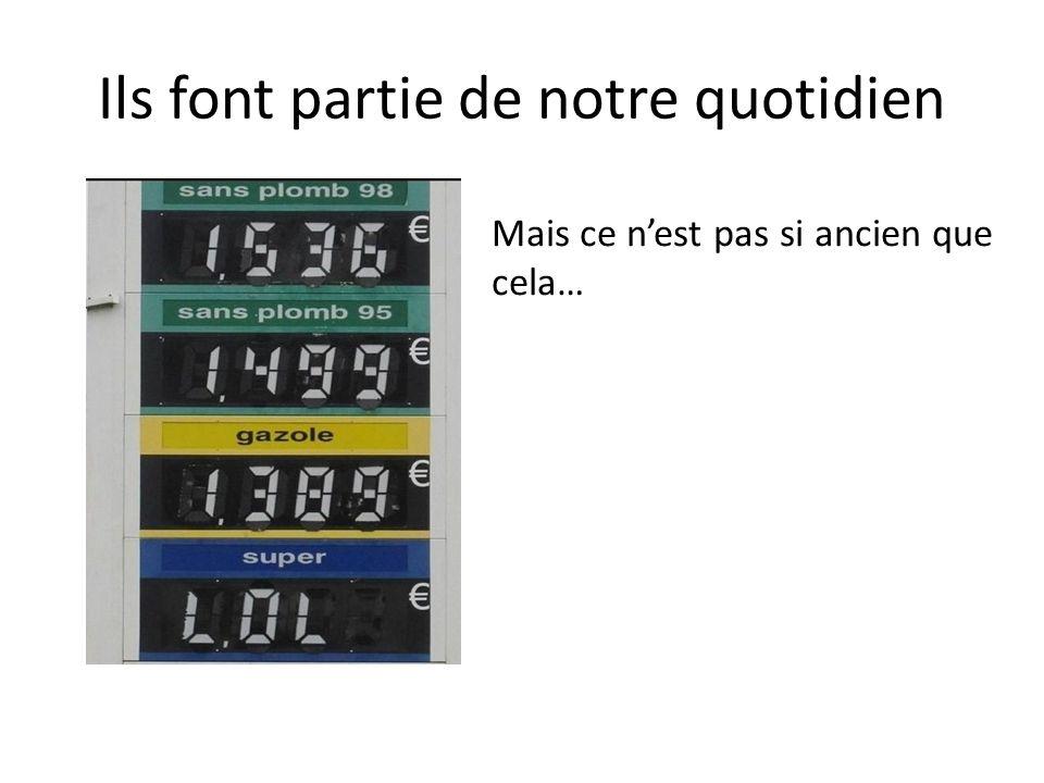 Avant… Avant les décimaux, on utilisait les fractions.