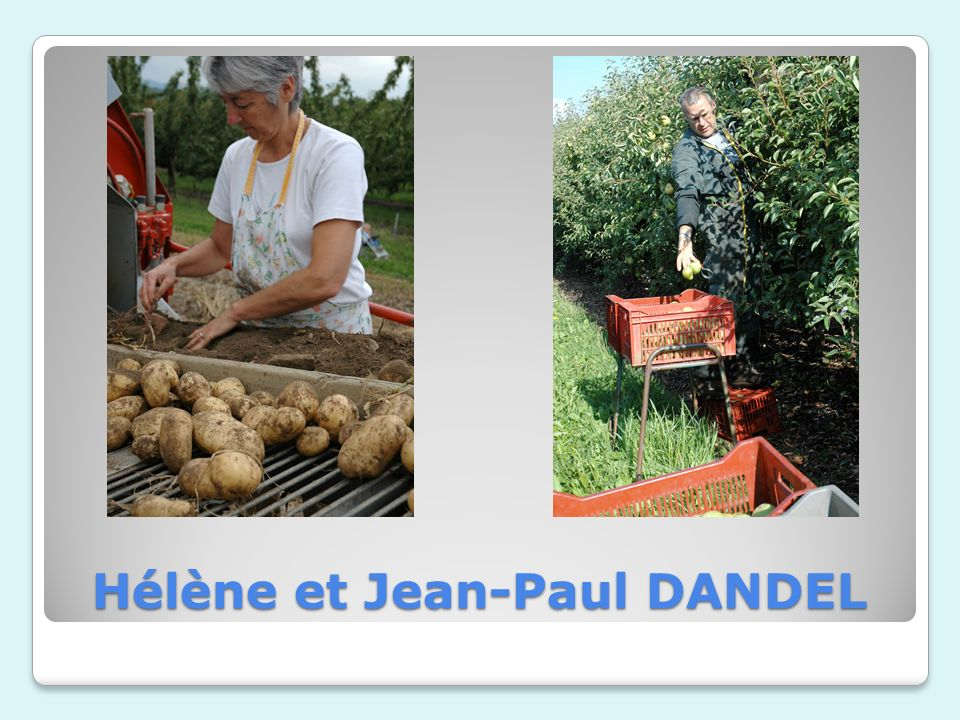 Hélène et Jean-Paul DANDEL