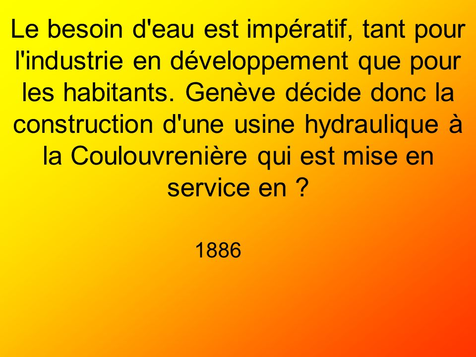 Quel événement exceptionnel cest produit en février 1956 Le CERN découvre la collision atomique Le mois le plus glacial du siècle Linauguration du téléphérique du Salève