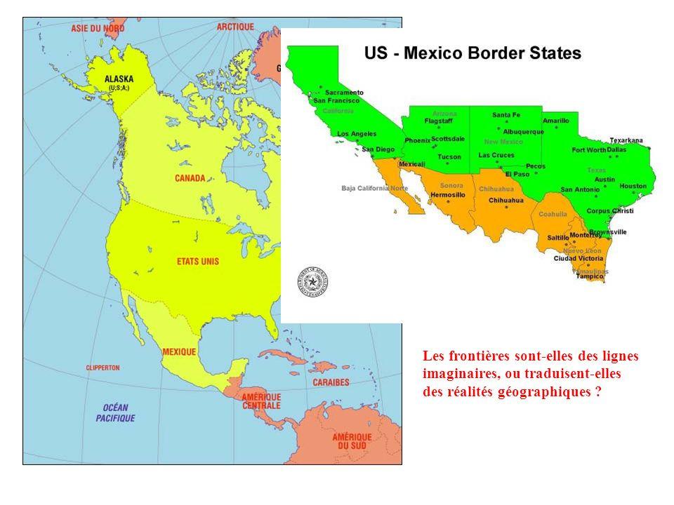 Étude de cas : la frontière États-Unis - Mexique