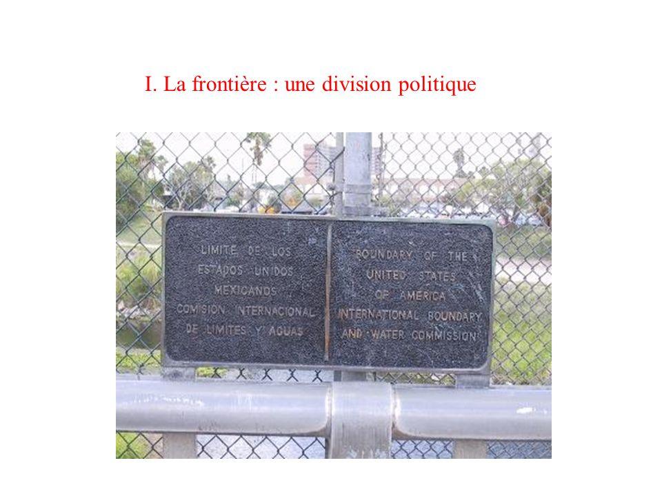Les frontières sont-elles des lignes imaginaires, ou traduisent-elles des réalités géographiques ?