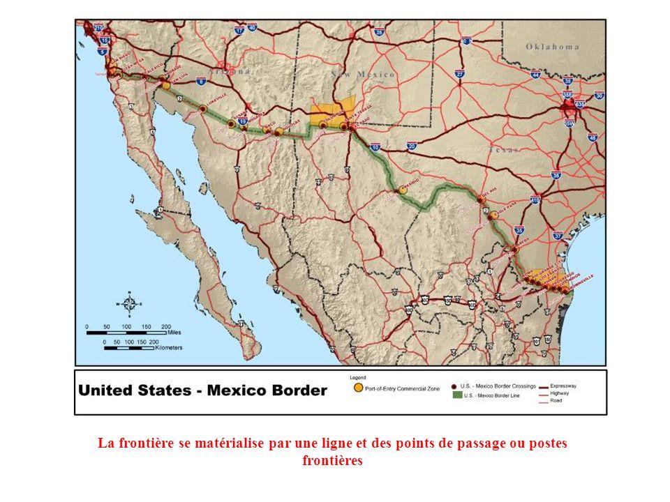 Les frontières sont des constructions humaines et historiques qui ne sont pas immuables