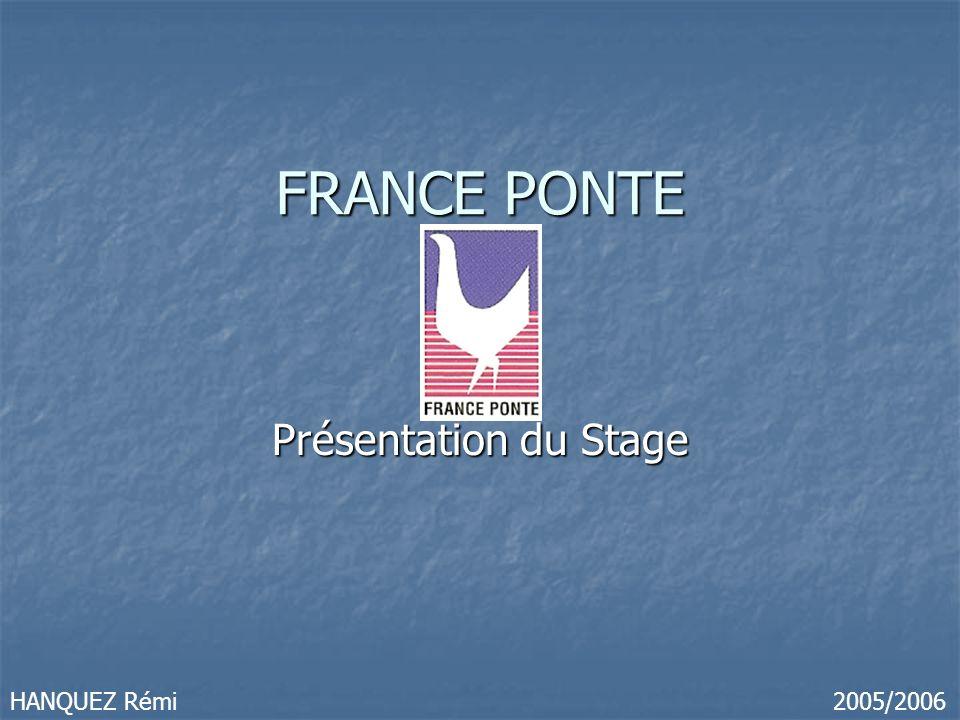 FRANCE PONTE Présentation du Stage 2005/2006HANQUEZ Rémi