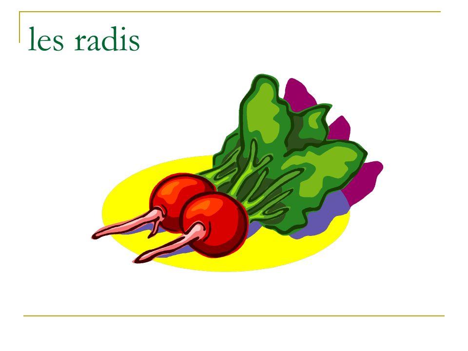 les radis