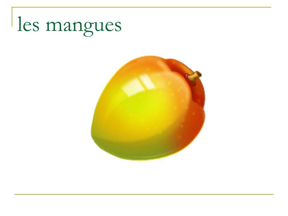 les mangues