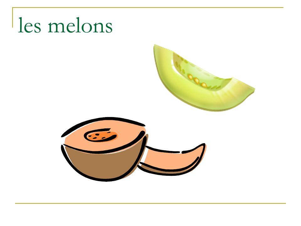 les melons