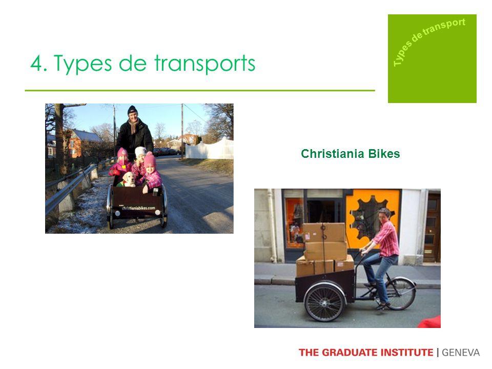 4. Types de transports Christiania Bikes