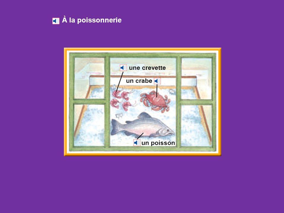 du porc un poulet du bœuf de lagneau de la viande À la boucherie