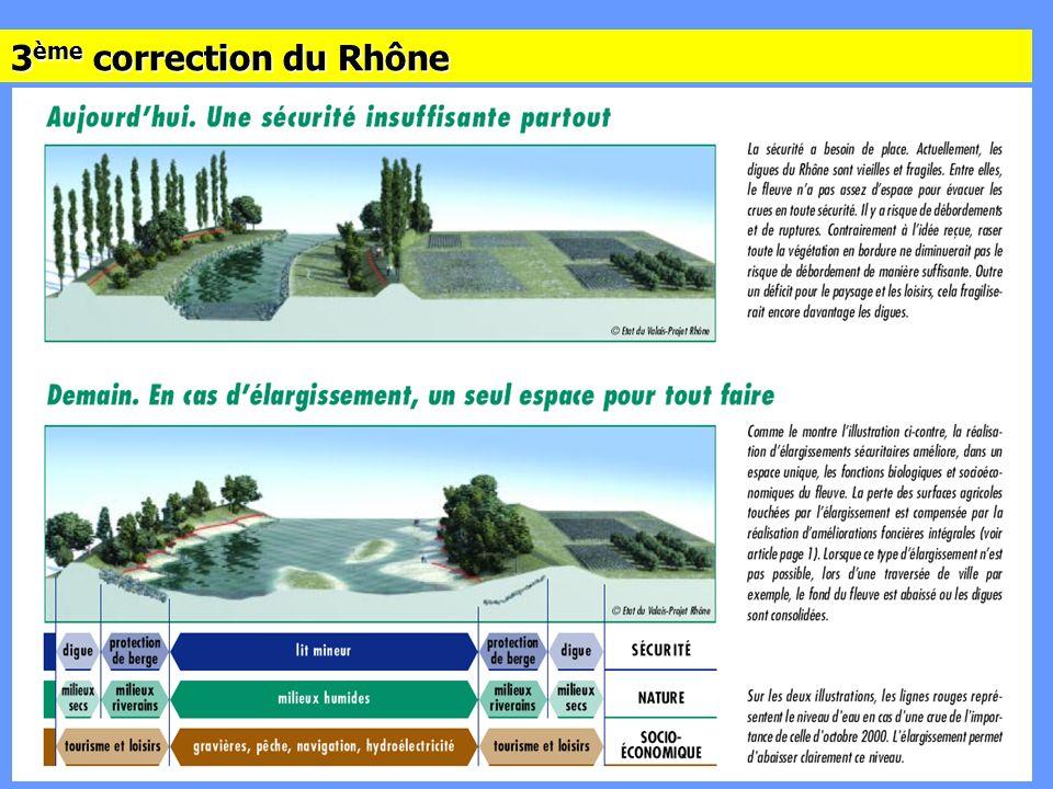 3 ème correction du Rhône