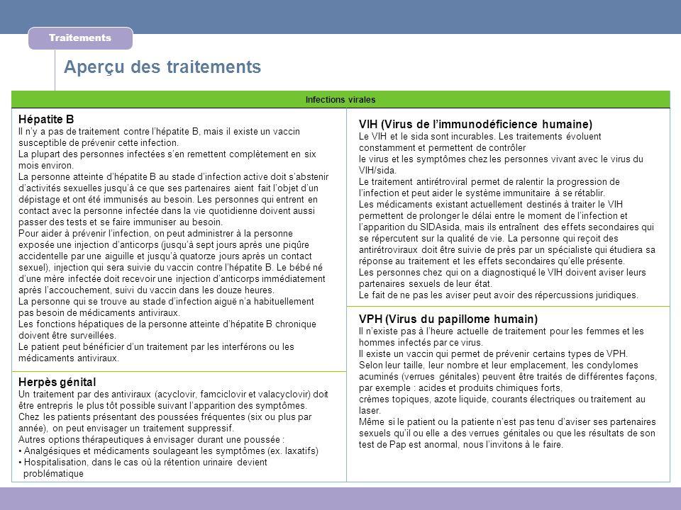 Infections virales Hépatite B Il ny a pas de traitement contre lhépatite B, mais il existe un vaccin susceptible de prévenir cette infection. La plupa