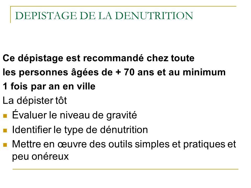 Stratégie nutritionnelle Durée du repas : au minimum une 1/2 heure Sadapter aux envies du patient Densifier les apports : petit volume, beaucoup dénergie et de protéines, privilégier la viande ou équivalents et laccompagner dune petite quantité de légumes ou féculent.
