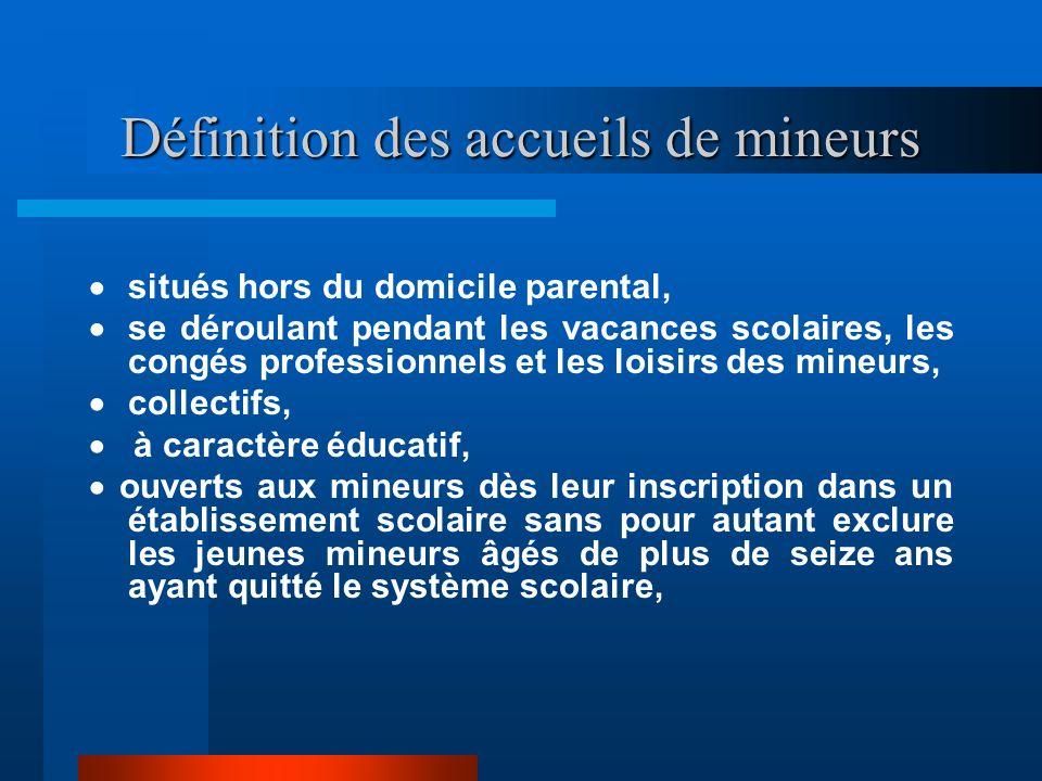 Contenu : Les textes cités en référence concernent le régime de protection des mineurs accueillis hors du domicile parental à l'occasion des vacances,