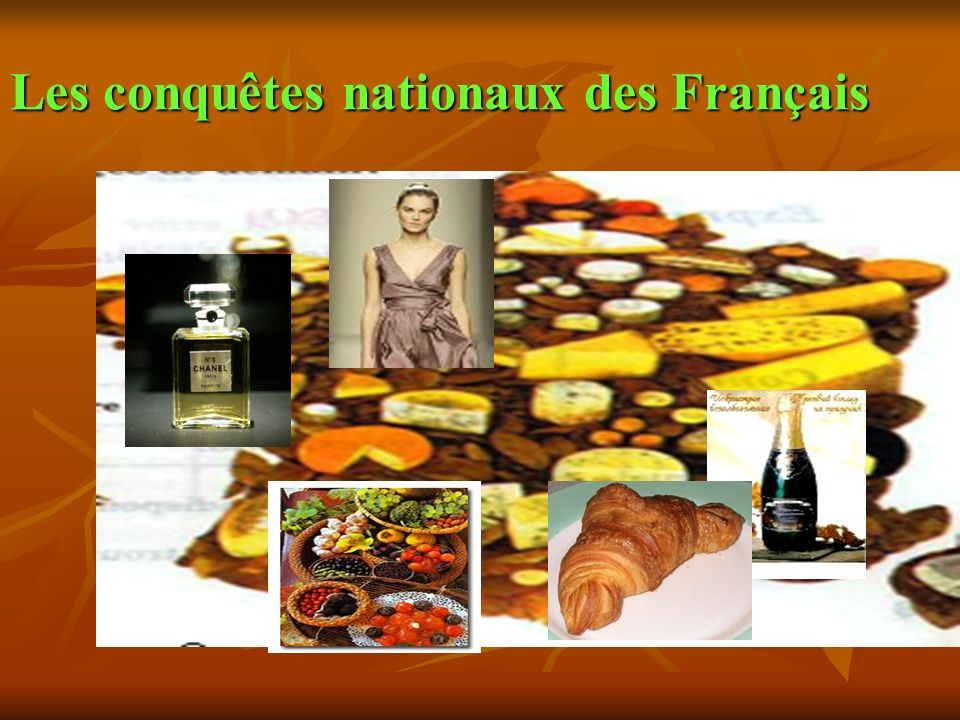 Les conquêtes nationaux des Français