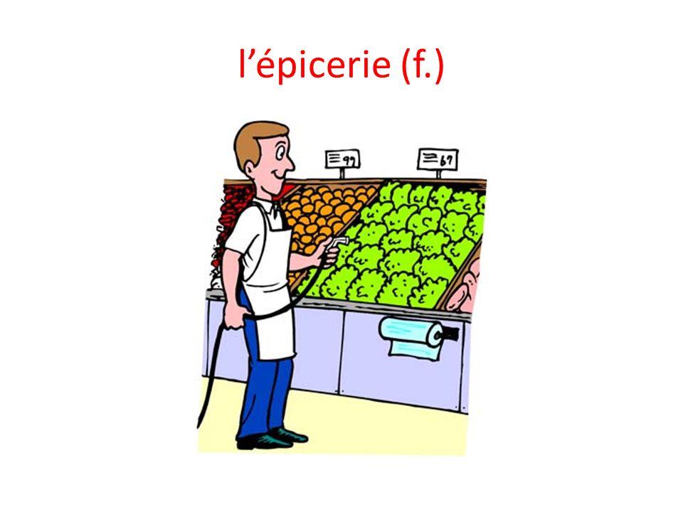 lépicerie (f.)