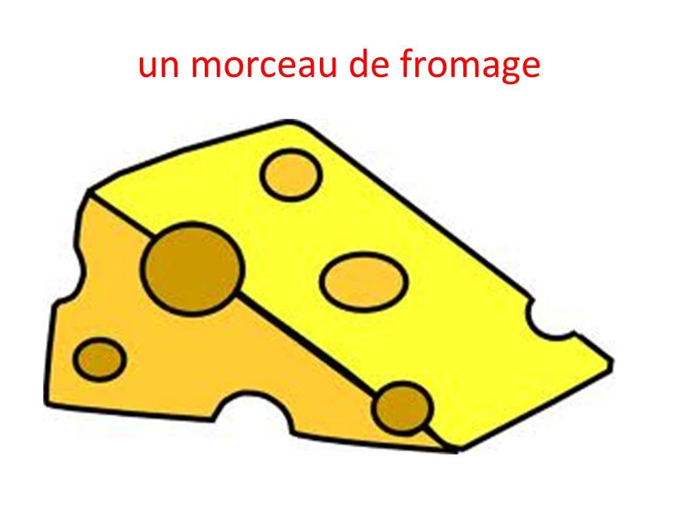 un morceau de fromage