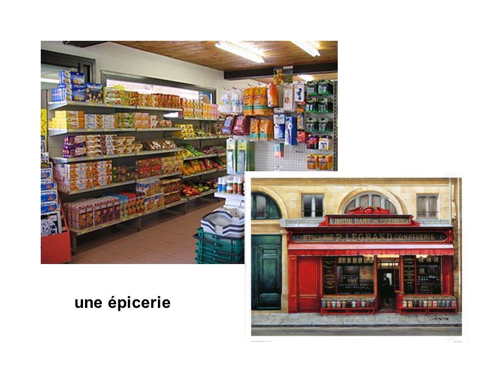 une épicerie
