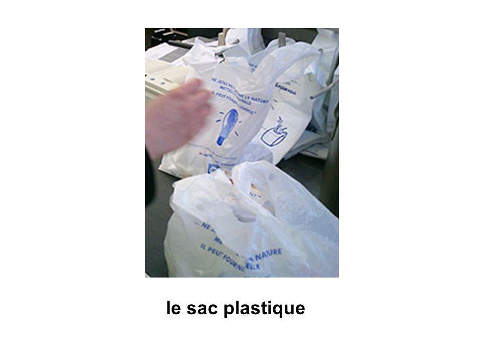le sac plastique