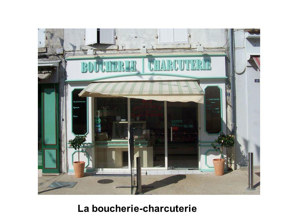 La boucherie-charcuterie