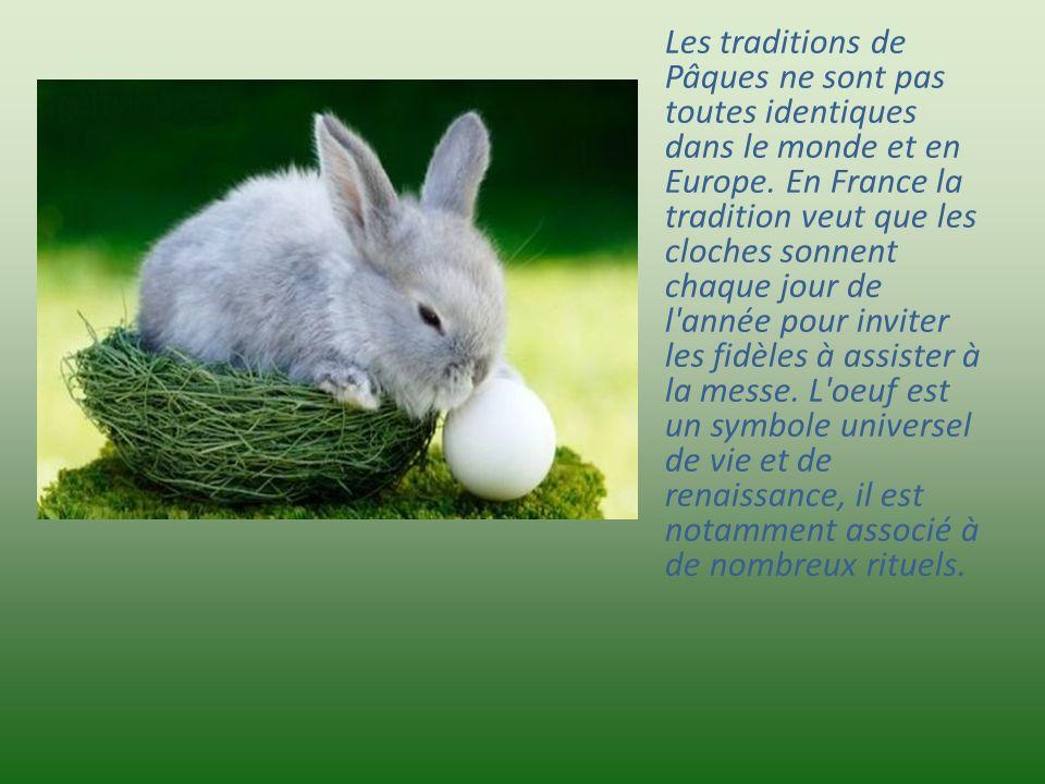 La fête de Pâques, moment essentiel dans le calendrier chrétien, c'est un jour de joie et d'espérance. Pour préparer Pâques et se purifier, on pratiqu