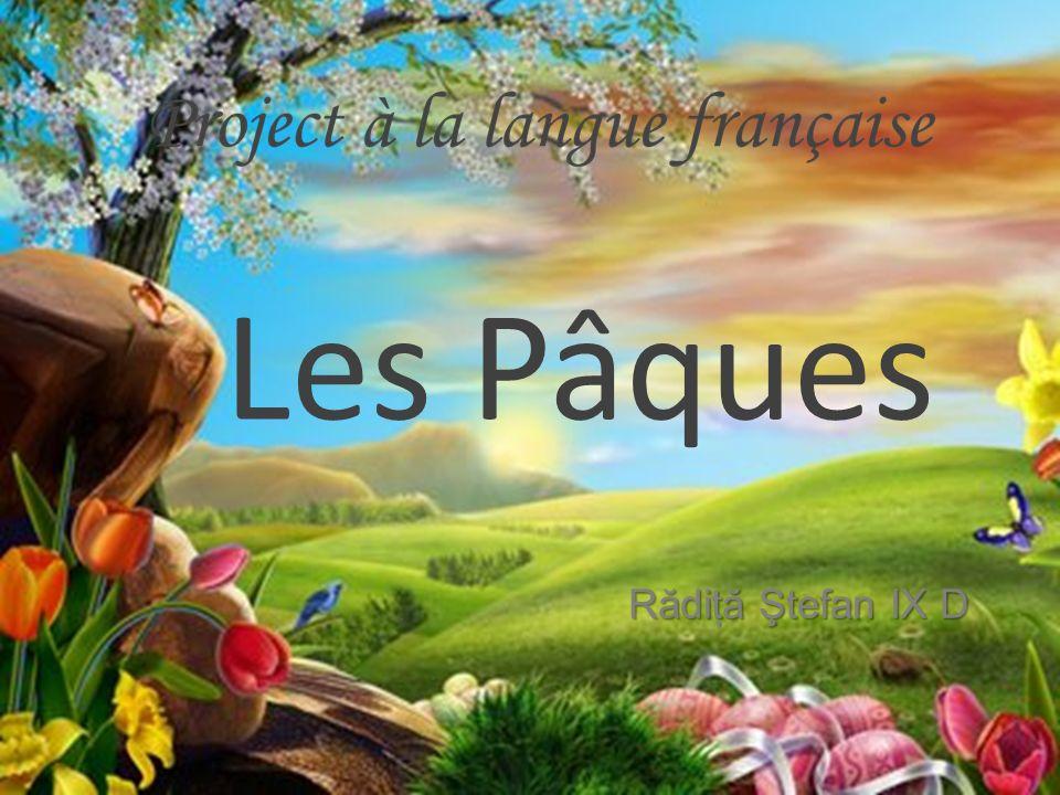 R ă diţ ă Ştefan IX D Les Pâques