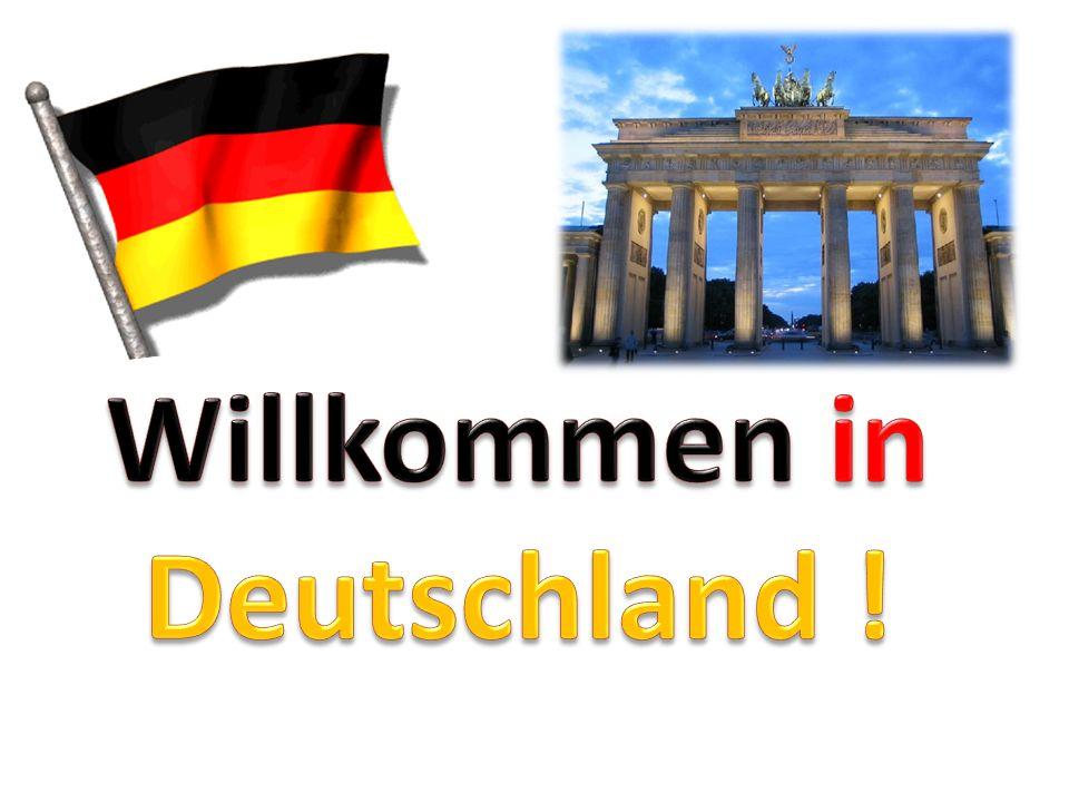 Position centrale en Europe et compte 9 voisins Superficie : 357 022 km² (France : 549 000 km²) Population : 81,440 millions pays le plus peuplé de lUE Principales villes : … 1961 - 1989 : mur de Berlin Angela Merkel : chancelière allemande Joachim Gauck : président fédéral dAllemagne