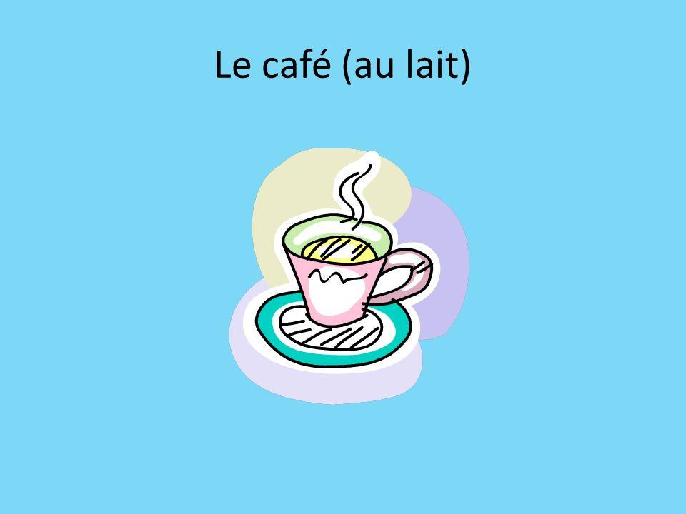 Le café (au lait)