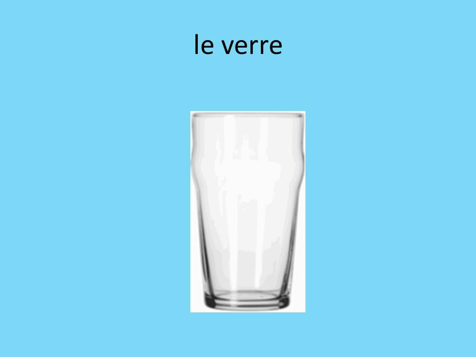 le verre