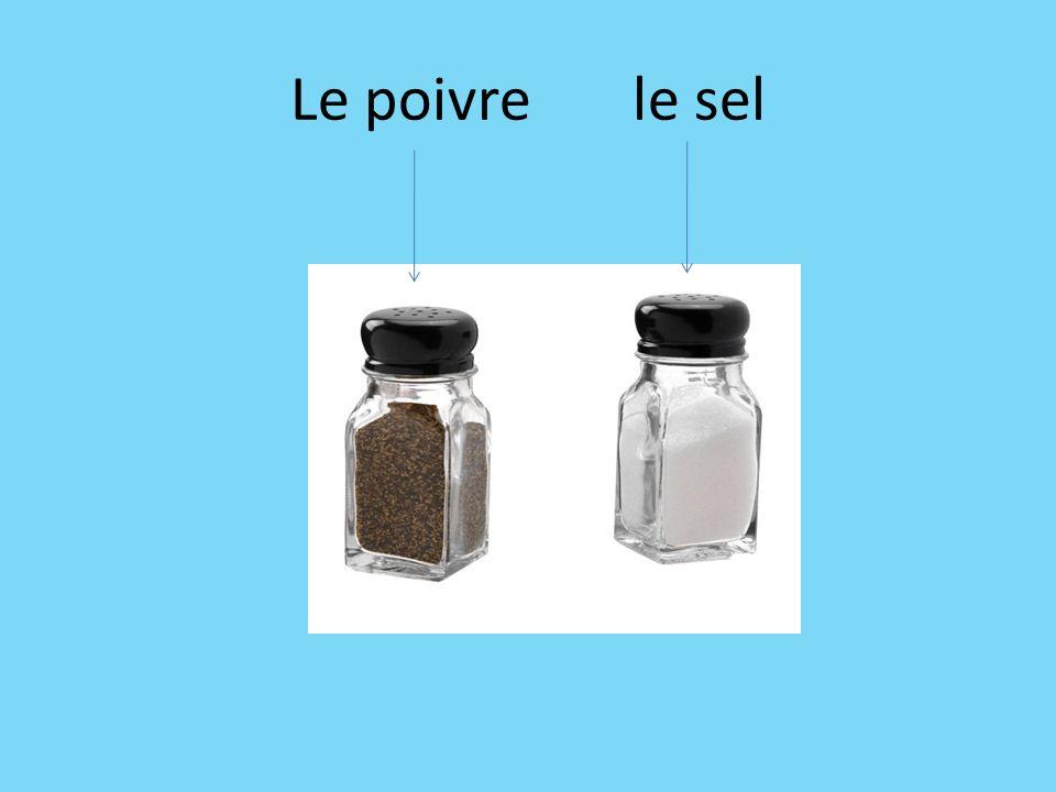 Le poivre le sel